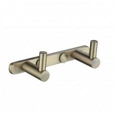 KAISER H0022 Bronze Планка с 2-мя крючками Бронза