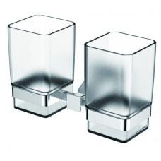KAISER Moderne KH-1235 Chrome Держатель для стаканов двойной Хром