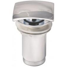 KAISER 8033 Chrome Донный клапан Хром (автомат)