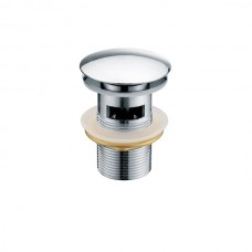 KAISER 8037 Chrome Донный клапан Хром (автомат)