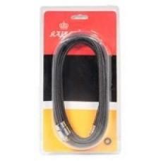 KAISER 0015 Black Шланг вытяжной для смесителя 1.2м нейлоновый Черный