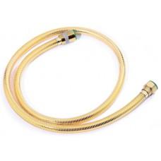 KAISER 0021 Gold Шланг для душа 1,75м усиленный Luxus Золото (металлический)