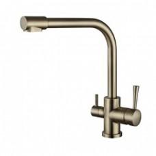 KAISER Merkur 26044-3 Bronze Смеситель для кухни под фильтр Бронза
