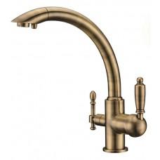 KAISER Vincent 31244-3 Bronze Смеситель для кухни под фильтр Бронза
