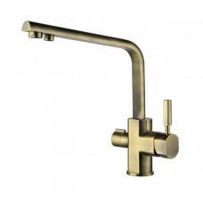 KAISER Decor 40144-3 Bronze Смеситель для кухни под фильтр Бронза