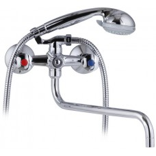 KAISER Luna 11080 Сhrome Смеситель для ванны с шаровым переключателем Хром