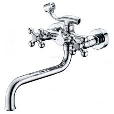 KAISER Carlson Lux 11255 Chrome Смеситель для ванны Хром