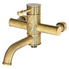 KAISER Milos 51022-1 Antique Bronze Смеситель для ванны Бронза