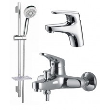 KAISER County 5500K Сhrome Комплект для ванной (55011+55022+стойка KS-110) Хром