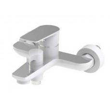 KAISER Atrio 60022 Смеситель для ванны с душевым комплектом, Хром/Белый