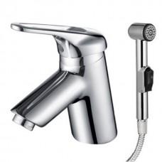 KAISER Douglas 12088 Смеситель для раковины с гигиеническим душем Хром