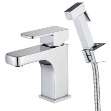 KAISER Sonat 34088 Сhrome Смеситель для биде/раковины с гигиеническим душем Хром